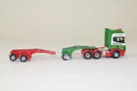 Corgi Classics CC12909; Scania Topline; Cab Unit, Single & Double Jeep Dollys; Cadzow Heavy Haulage