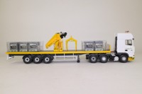 Corgi CC13219; DAF XF Crane Trailer & Palletised Load, Tarmac; Excellent Boxed