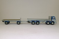 Corgi Classics 11301; ERF KV; 8 Wheel Rigid Flatbed & Trailer; Russell of Bathgate