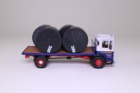 Corgi Classics 25301; Leyland Ergomatic Cab; Holt Lane Transport, Prescot, Flatbed with Reels