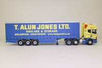 Corgi Classics CC12913; Scania Topline; Curtainside Trailer, T Alun Jones Ltd