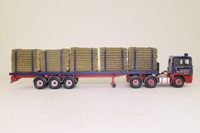 Corgi Classics CC11908; ERF EC Artic; Log Trailer; A. & J. Nelson Ltd
