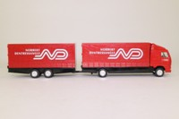 Corgi Superhaulers 59537; Volvo FH 1:64 Scale; Rigid Truck & Trailer; Norbert Dentressangle
