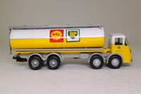 Corgi Classics 11401; ERF KV; Box Trailer: Black & White Whisky