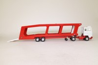 Corgi 1170; Ford Transcontinental Car Transporter; Red & White