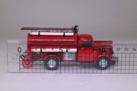 Matchbox Collectibles YFE04; 1939 Bedford Tanker; Fire Service Tanker