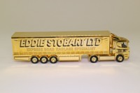 Corgi Classics CC86610; Scania R Cab, 1:64 Scale; The Eddie Stobart Story, Gold Plated