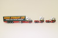 Corgi Classics CC99155; Scania @ Stobart Set; T Cab, Topline, 4 Series, Curtainside Trailer