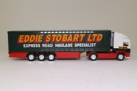 Corgi Superhaulers 59502; ERF EC 1:64 Scale; Artic Curtainside, Eddie Stobart