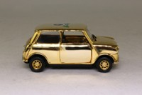Corgi Classics CC82272; BL/Rover Mini; Gold Plated, 50th Anniversary