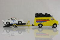 Matchbox Super Kings K-102/2; Dodge Van and Porsche Race Support Set