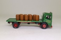 Corgi Classics 97370; AEC Ergomatic Cab; 4 Wheel Rigid Flatbed, Federation Brewery; Barrel Load