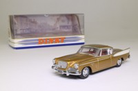 Dinky by Matchbox DY-26; Studebaker Golden Hawk; Gold, White Trim