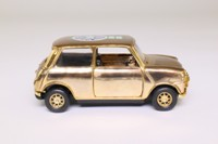 Corgi Classics CC82290; BL/Rover Mini; Gold Plated, Mini Cooper 50th Anniversary