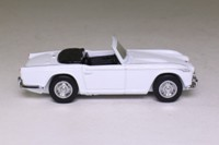 Dinky Toys DY-20; 1965 Triumph TR4-IRS; Open Top, White