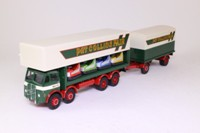 Corgi Classics 09901; ERF V; 8-Wheel Rigid Van & Trailer; Pat Collins Dodgems
