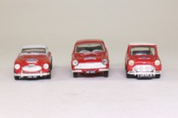 Corgi Classics 97709; Alpine Rally 3 Car Set; Mk1 Cortina, BMC Works Mini & Healey 3000