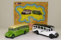 Jersey Island Transport 2 Coach Set