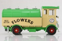 Corgi Classics C945/1; AEC 508 Cabover Tanker; Flowers Best Bitter, Cream, Green Tank, Roof & Chassis