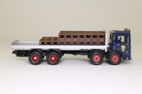 Corgi Classics 20902; AEC Ergomatic Cab; 8 Wheel Rigid Flatbed, Guinness, Crates & Bottles Load