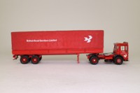 Corgi Classics 22201; AEC Ergomatic Cab; Artic Canvas Trailer, British Road Services