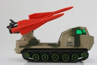 Matchbox Battle Kings K-117/1; SP Hawk Missile Launcher