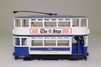 Corgi Classics 97288; Double Deck Tram, Closed Top, Closed Platform; Sheffield Corporation; Vulcan Rd