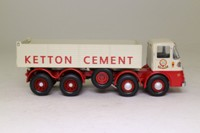 Corgi Classics CC10504; ERF KV; 8 Wheel Rigid Tipper, Ketton Cement (HE Musgrove & Sons Ltd), Stamford