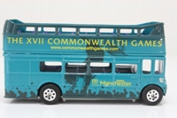 Corgi Classics CC82307; AEC Routemaster Bus; Open Top: Commonwealth Games Manchester 2002