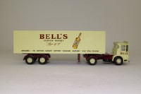 Corgi Classics 21303; AEC Ergomatic Cab; Articulated Box Trailer: Bells Scoth Whisky