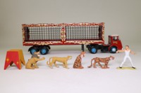 Corgi Classics 11201; ERF KV; Artic Flatbed, Chipperfield's Circus Animal Cages & Tigers