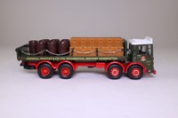 Corgi Classics 97931; AEC Ergomatic Cab; 8 Wheel Rigid Flatbed With Chains, Greenall Whitley