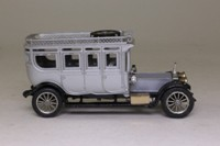Corgi Classics C860/1; 1912 Rolls-Royce Silver Ghost; Silver, Black Chassis, Plated Gold & Silver Trim