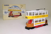 Corgi Classics 98152; Double Deck Tram, Closed Top, Open Platform; Glasgow Corporation Tramways; Glasgow Green, Bridgeton Cross, Bellgrove