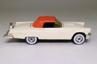 Corgi Classics 810; 1957 Ford Thunderbird Convertible; Soft Top, Cream with Orange Hood