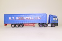 Corgi Classics CC13423; MAN TGA XXL; Artic Curtainside: RT Keedwell