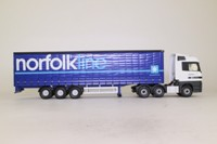 Corgi Classics CC13806; Mercedes-Benz Actros; Curtainside, Norfolk Line
