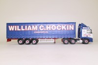 Corgi Classics CC14011; Volvo FH Truck; Curtainside Trailer, William C Hockin