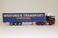 Corgi Classics CC13216; DAF XF Space Cab; Curtainside Trailer, SW Wreford & Sons Ltd