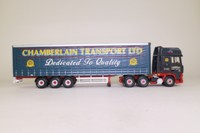 Corgi Classics CC13225; DAF XF Space Cab; Curtainside Trailer, Chamberlain Transport Ltd