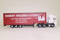Corgi Classics CC13226; DAF XF Space Cab; Stepframe Curtainside Trailer, Robert Walker Ltd, Woodley, Cheshire