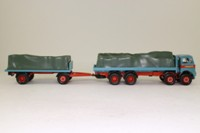 Corgi Classics 27602; Atkinson; 8 Wheel Rigid Flatbed & Trailer, Sheeted Load; Billy Crow & Sons