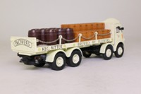 Corgi Classics 97942; ERF V; 8 Wheel Rigid Flatbed with Chains; Flowers Brewery; Crates & Barrels Load