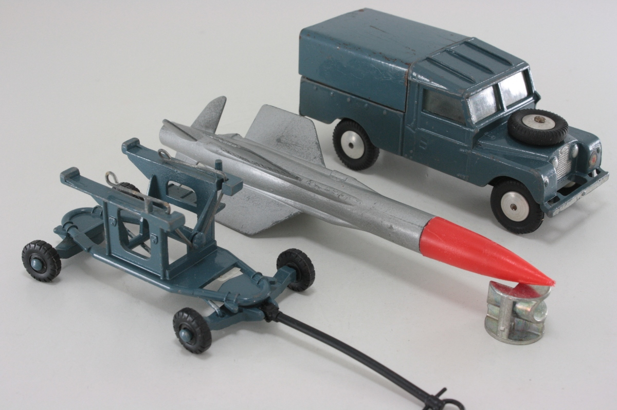 Raf Land Rover And Thunderbird Missile Gs3
